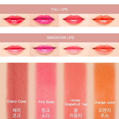 Missha Coloring Water Tint LINE FRIENDS Edition | PrestoMall - Lipsticks